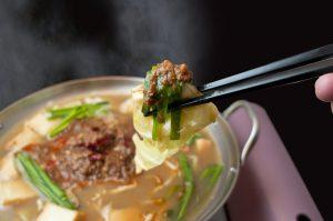 しびれ麻婆鍋